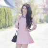 THE BABY PINK DRESS ♡