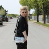 silver bag | Style my Fashion