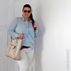 Das blaue Herrenhemd | Style my Fashion