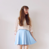 Light blue skirt | Style my Fashion