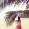 Tropical Island Beach Look