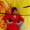 OOTD elegant Chanel Look Red Dress + Coat + Tights + gold Juwels - Das Turm Vienna | Style my Fashion
