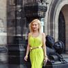 Lime dress | Style my Fashion
