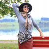 Herbstliches Businessoutfit mit Burberry-Schal | Style my Fashion