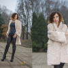 creamy fur coat | Style my Fashion