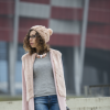 pale pink coat | Style my Fashion