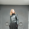 Champs Elysee - Vintage Spitze mit Lacklederjacke | Style my Fashion