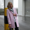 Pink Coat and Leather Pants | Style my Fashion