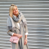 Shades of Pink and Grey | Style my Fashion