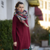 burgundy and green | Style my Fashion
