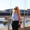 blue & burgundy | Style my Fashion