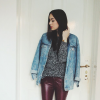 Red Leather Pants   Style my Fashion