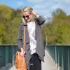 Fringe Knit and MCM Bucket Bag | Style my Fashion