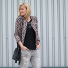 Boucle Blazer and Laced Pumps | Style my Fashion