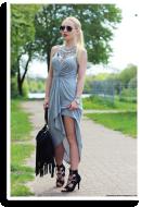 Gray dress | Style my Fashion