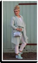 White n mint | Style my Fashion