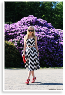 black and white two piece set | Style my Fashion