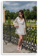 White Chiffon Dress | Style my Fashion