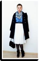 Whit Skirt   Style my Fashion