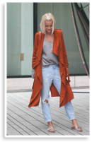 Zara Coat and Ripped Jeans | Style my Fashion