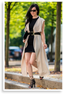 Semi-casual black dress | Style my Fashion