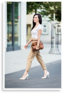 Chinos and cropped top   Style my Fashion