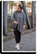 Grauer Sweater, Lederleggins, Adidas Superstars | Style my Fashion