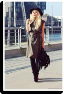 Khaki Vest Dress | Style my Fashion