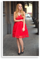 Lace in Red | Style my Fashion