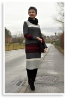 Strickkleid & Stiefel | Style my Fashion