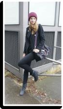 burgundy on top | Style my Fashion