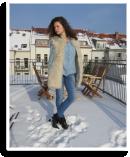 Denim + Denim + Fake Fur | Style my Fashion