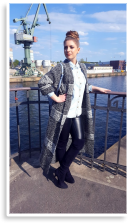 Overknees & Oversize Knit Pullover & Leather Leggings   Style my Fashion