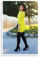 Yellow and black | Style my Fashion