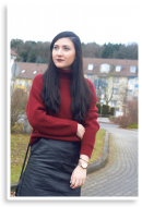 Turtleneck and Leather | Style my World