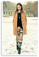 print leggings | Style my Fashion