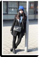 blue beanie | Style my Fashion