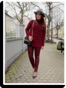 Miss Burgundy | Style my Fashion