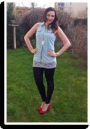 Jeans, Spitze und Leder | Style my Fashion