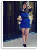 Blue Mart Dress | Style my Fashion