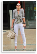 Gray and White | Style my Fashion
