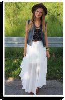 Weiß und asymmetrisch | Style my Fashion