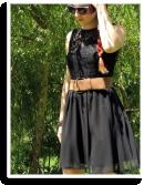 Spitzenbluse mit Vintage- Gürtel   Style my Fashion
