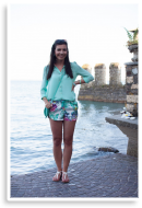 tropical shorts | Style my Fashion