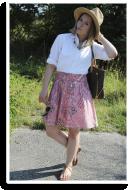 Maskulines Hemd trifft auf Mädchenrock   Style my Fashion