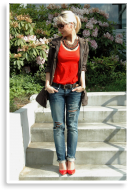 DIY Destroyed Jeans   Style my Fashion