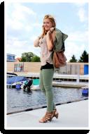 Lookbook Studded Shoulder jacket | Style my Fashion