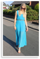Blue Maxi Dress | Style my Fashion