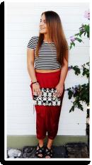 Harem trifft Crop | Style my Fashion