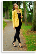 Yellow moment   Style my Fashion